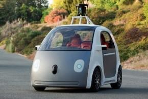 谷歌首辆全自动无人车亮相