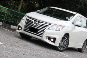 Nissan Elgrand 外形豪迈性能吸睛