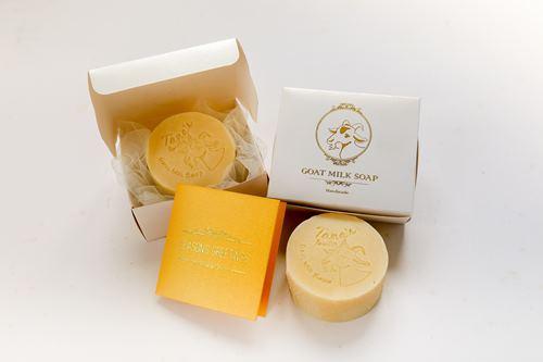 羊奶研发的产品,羊奶肥皂就是其中之一。