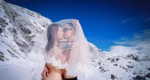 部落客柳丧彪至尼泊尔拍摄的裸体婚纱。翻摄丧彪 • 柳飘飘面子书