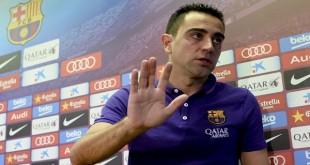 西班牙中场大脑哈维(图),週四正式召开新闻发佈会后宣佈离开效力了17年之久的巴塞罗那,前往卡塔尔淘金。(图取自《路透社》)