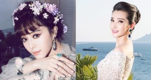 经过摄影师修图之后,范冰冰(左)、李冰冰都成了零瑕疵美人。