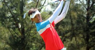 泰国选手桑再卡萨隆(图)首轮交出69杆,以1杆落后首轮领先者王宗庆。