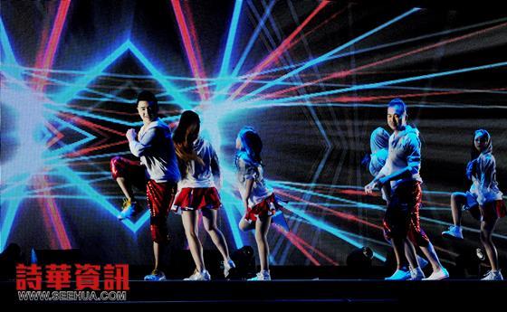 活力舞蹈团呈献《活力四射GET UP》。