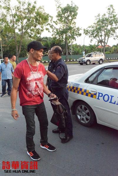 涉案其中的一名男嫌也被捕。