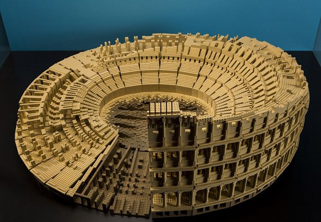 古罗马大剧院。