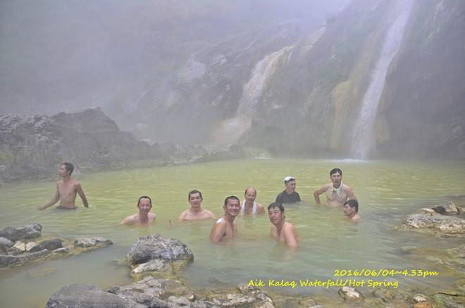 享受泡著名的火山湖附近之温泉Aiq Kalak,忘却疲劳!