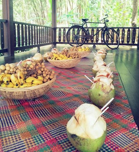 热带水果盛宴。