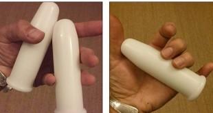 碧索普的阴道建造手术,需放置特殊管子使阴道成形。