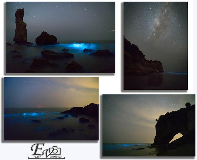 Blue Tears At Tusan Beach 2015