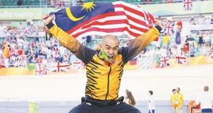 今年在里约奥运会男子麒麟赛摘下铜牌的大马名將阿兹祖,重夺年终世界第一宝座,为他衝击2020年东京奥运会金牌,注入强心剂。