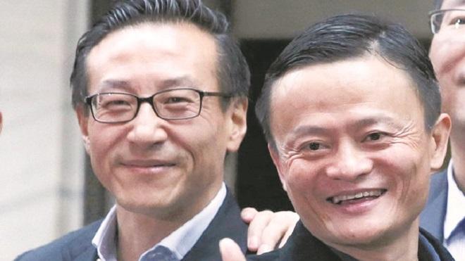 Image result for 蔡崇信马云
